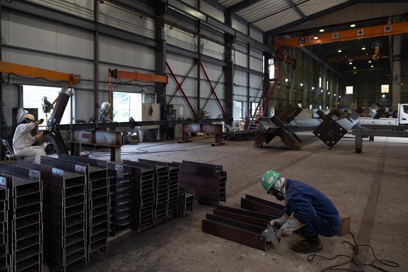 加工工場にて一括管理で製作・加工・検査の全てを行います