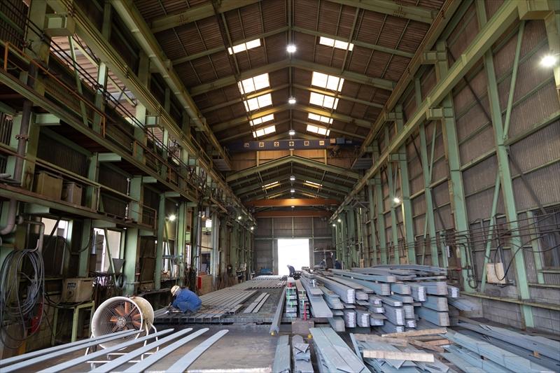 新たに新工場を設け、機動力をさらに向上してまいります