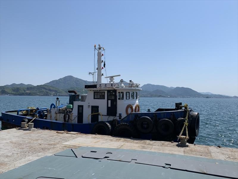 トラック・トレーラーだけでなく、船による海上輸送にも対応